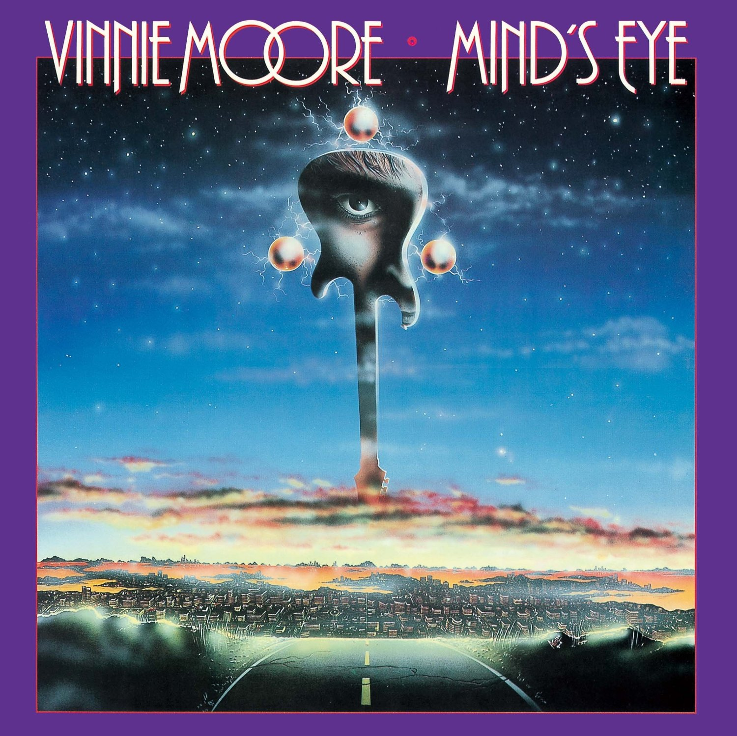 VINNIE MOORE - Mind's Eye cover
