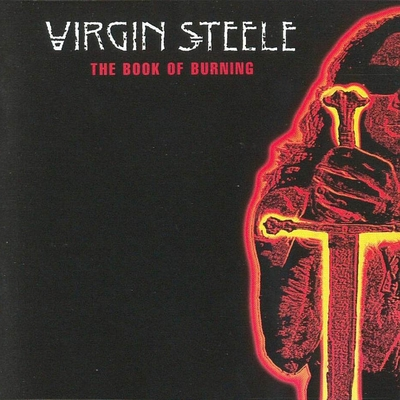 VIRGIN STEELE - The Book Of Burning cover
