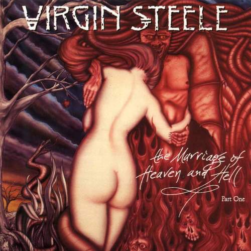 VIRGIN STEELE - The Marriage Of Heaven And Hell, Part One cover