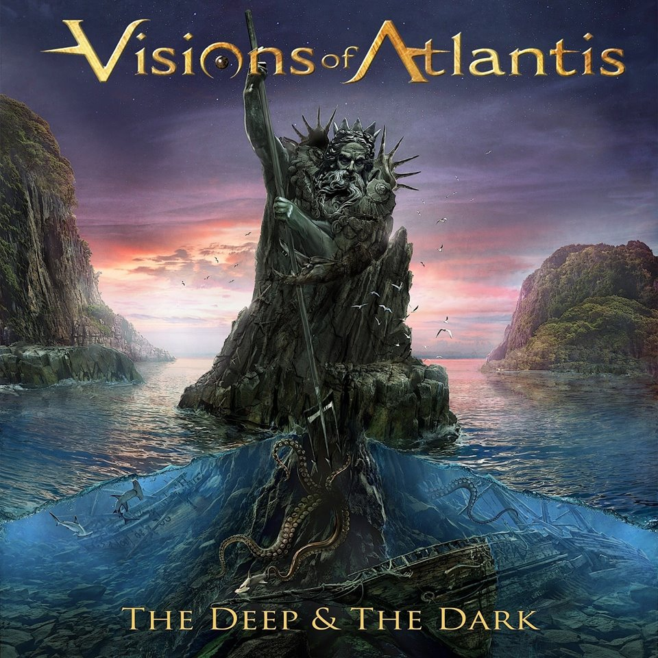 VISIONS OF ATLANTIS - The Deep & the Dark cover