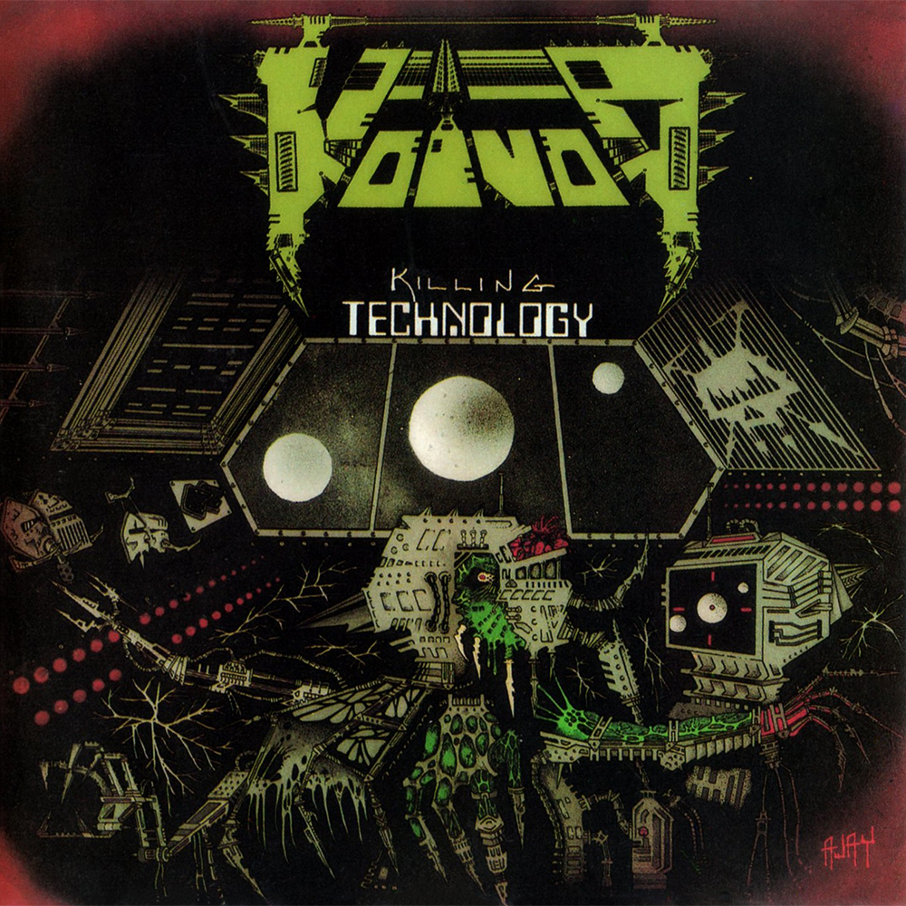 VOIVOD - Killing Technology cover