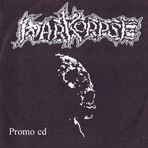 WARKORPSE - Promo CD cover