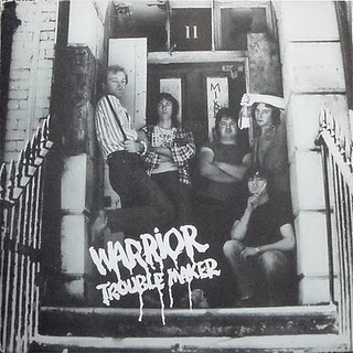 WARRIOR (CHICHESTER) - Troublemaker cover