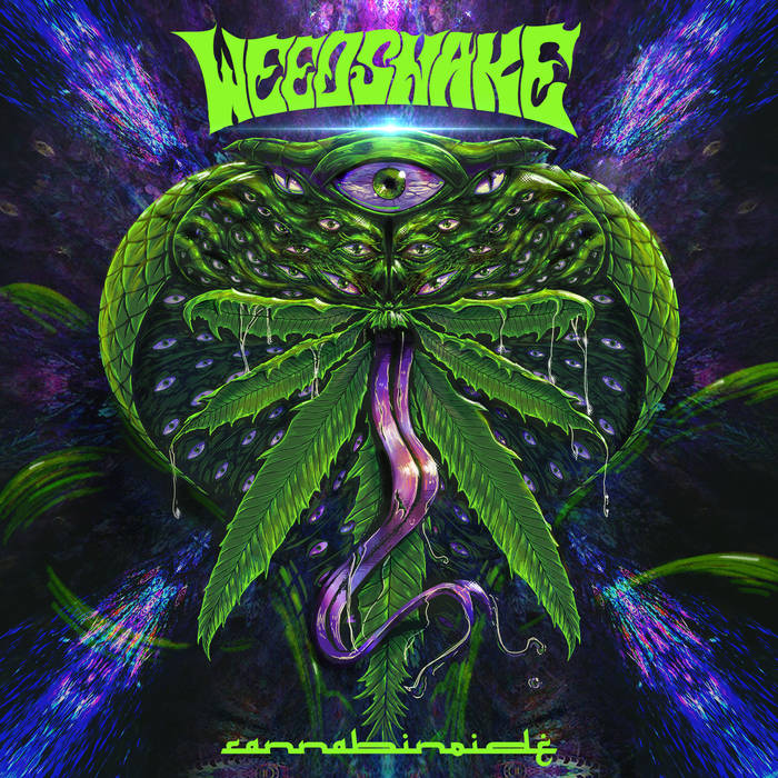 WEEDSNAKE - Cannabinoide cover