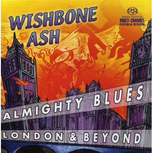WISHBONE ASH - Almighty Blues cover