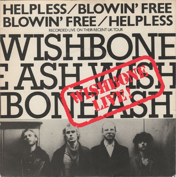 WISHBONE ASH - Helpless cover