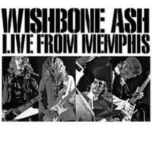 WISHBONE ASH - Live From Memphis cover