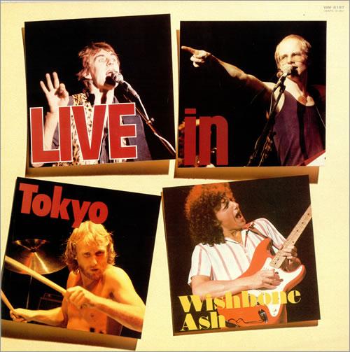 WISHBONE ASH - Live In Tokyo cover