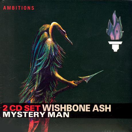WISHBONE ASH - Mystery Man cover