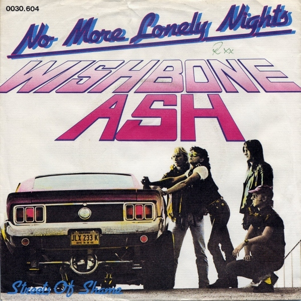 WISHBONE ASH - No More Lonely Nights cover