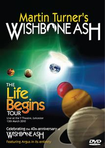WISHBONE ASH - The Life Begins Tour cover