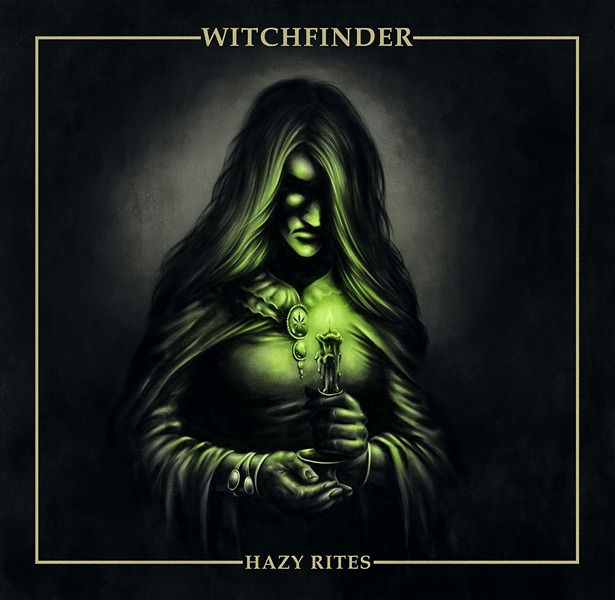 WITCHFINDER - Hazy Rites cover