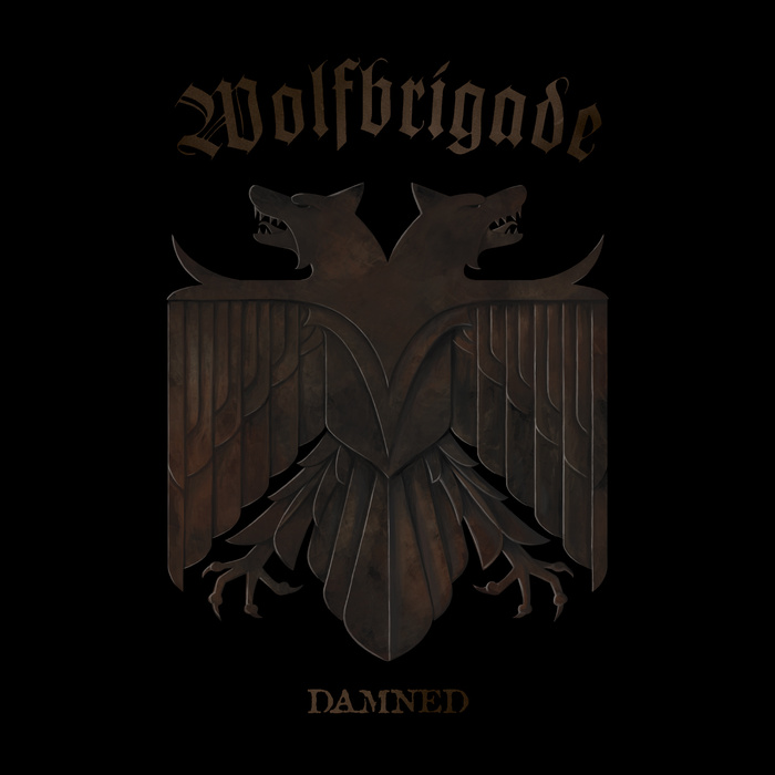 WOLFBRIGADE - Damned cover