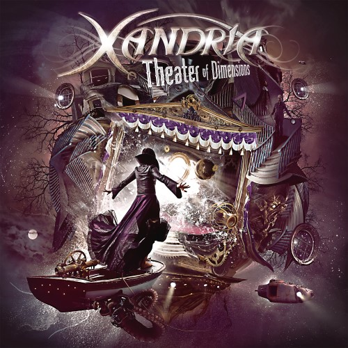 XANDRIA - Theater of Dimensions cover