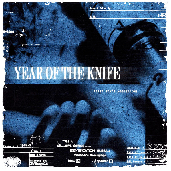 YEAR OF THE KNIFE - First State Aggression cover