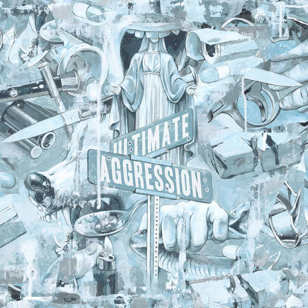 YEAR OF THE KNIFE - Ultimate Aggression cover