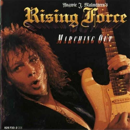 YNGWIE J. MALMSTEEN - Marching Out cover
